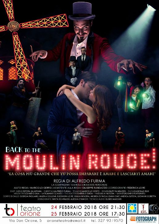 MOULIN ROUGE Teatro Orione